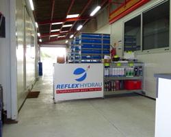 Flexibles-vérins-dépannage-maintenance-Nantes-Saint herblain-hydraulique-comptoir-fournitures-composants-dépollutions-banc essai-Reflex hydrau