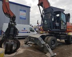 Dépannage Flexibles hydraulique sur site-vérins-dépannage-maintenance-Nantes-Saint herblain-hydraulique-comptoir-fournitures-composants-dépollutions-banc essai-Reflex hydrau - PAPREC - 313 D
